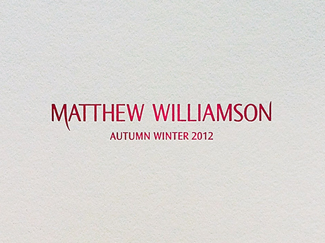 Matthew Williamson